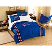 Nfl Applique 3-Piece Bedding Twin Comforter Set, Buffalo Bills front-1040890