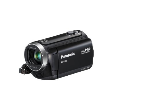 Panasonic HC-V100K 42x Intelligent Zoom SD Camcorder (Black)