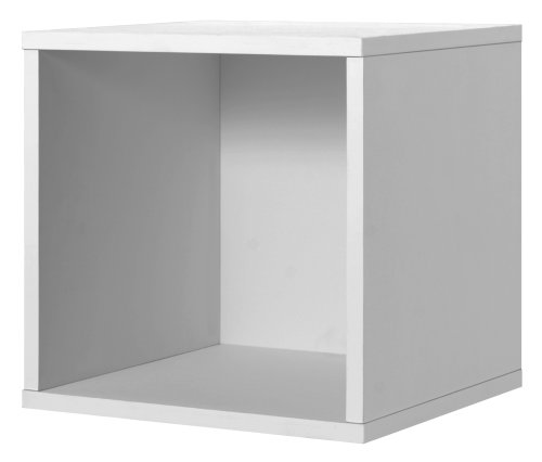 Foremost 327601 Modular Open Cube Storage System, White