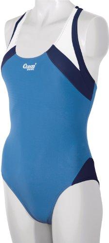 Cressi Swim Damen Badeanzug Paros, Blau Royal, XS, VA932201