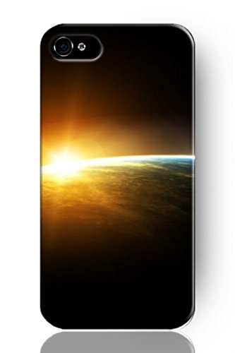 Sprawl New Fashion Design Hard Skin Case Cover Shell For Mobile Phone Apple Iphone 5 5S--Amazing Sunrise On Earth