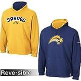 Reebok Buffalo Sabres Face-Off ELITE Reversible Hooded Sweatshirt