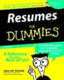 img - for Resumes for Dummies (3rd, 00) by Kennedy, Joyce Lain [Paperback (2000)] book / textbook / text book