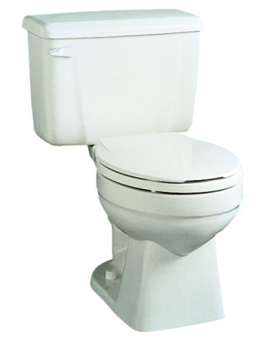 Buy Crane Plumbing Bigfoot 1.6 GPF / 6.0 LPF 12-Inch Vitreous China Toilet Bowl, White #3941