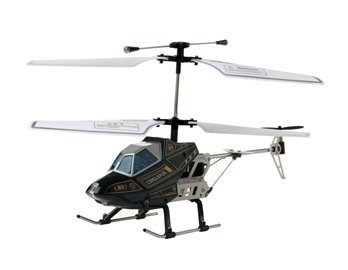 815A 3.5-Channel Aluminium Alloy RC Helicopter (Black)