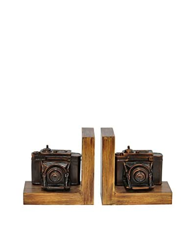 Three Hands Resin Camera Bookends