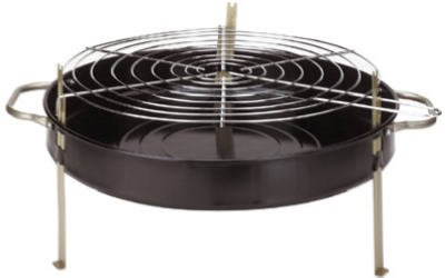 Kay Home Products 116hh Tabletop Bbq Grill Round 18 In