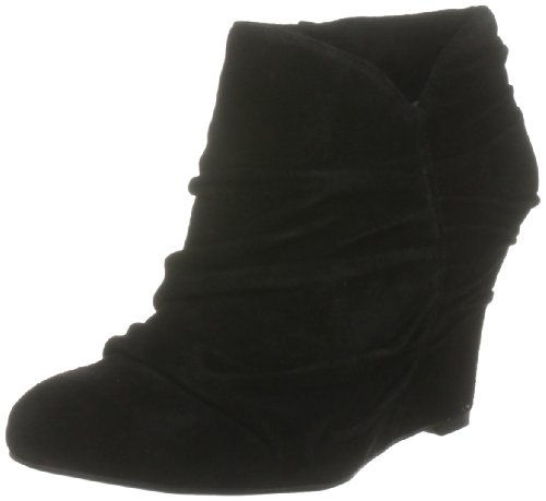 Nine West Women's Revvedup Black Wedges Boots 2330400209 9 UK