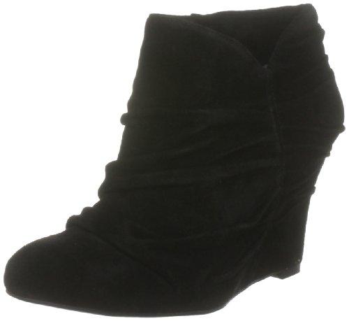 Nine West Women's Revvedup Black Wedges Boots 2330400209 9 UK