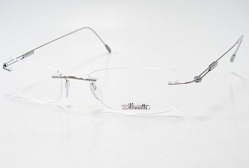 SILHOUETTE Chassis 7534 Titan Next Generation III 6075 Silver Optical Eyeglasses Frame (Bridge:21 Temple:145)