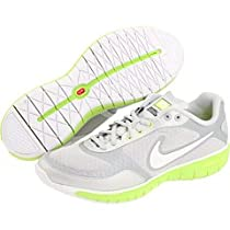 Womens Nike Free XT Everyday Fit+ Silver/Green Size 9.5