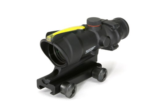 Acog 4 X 32 Scope Dual Illuminated Chevron .223 Ballistic Reticle, Amber