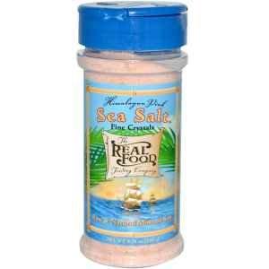 The Real Food Trading Company - Himalayan Pink Sea Salt, 8 oz powder (Sea Salt Real Food compare prices)