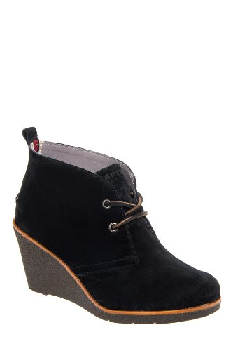 Harlow High Wedge Bootie