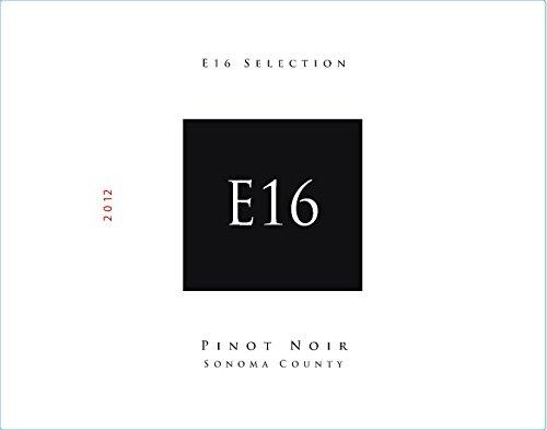2012 E16 Selection Sonoma County Pinot Noir 750 Ml