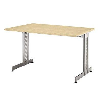 Bureau e-serie taille :  72 cm h x 180 cm l x l 80 cm plateau :  bois de noyer