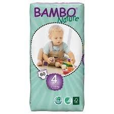 Pañales Bambo Nature talla 4 (7 a 18 kgs) por Abena