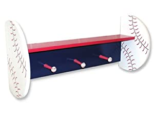 Basebal Wall Shelf