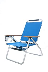 Outdoor Sports Camping Low-rise Fishing Chair With Fishing Rod Holder And Attached Insulated Cooler by Elite Team