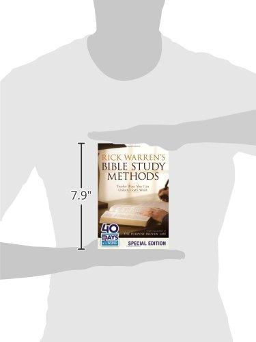 Rick Warren's Bible Study Methods: Twelve Ways You Can ...