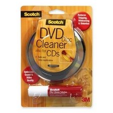 3M Scotch CD/DVD Disc Cleaner