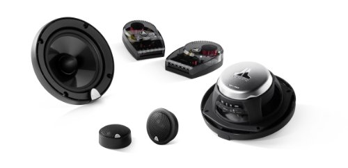 """Jl Audio C3-650 6-3/4"""" 2-Way Convertible Component/Coaxial Speakers System Evolution C3 Series"""