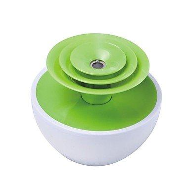 JJE 90ml water USB Mini Flower Humidifier more than 2.5 hours , Green