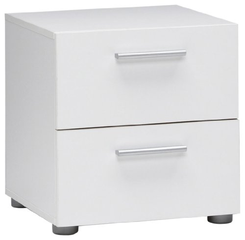 Bedside Table With Drawers 8615 front