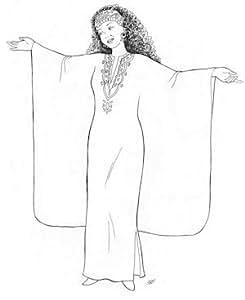 Phhaedra's Egyptian Caftan Pattern (Belly Dance)