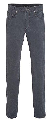 MAC Herren Jeans Hose Arne Leather Touch Gabardine 0781L050100 077, Größe:W33/L34;Color MAC Herren:wash down grey