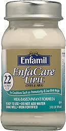 Enfamil Enfacare 22 cal Ready to Feed 2 Oz Plastic Bottles, Case of 48
