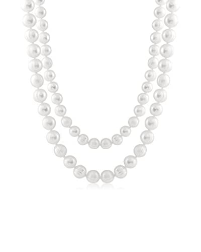 Splendid Endless White Necklace