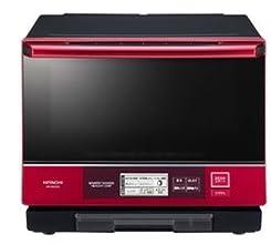 日立 過熱水蒸気オーブンレンジ 「ベーカリーレンジ ヘルシーシェフ」(33L) MRO-NBK5000-R パールレッド