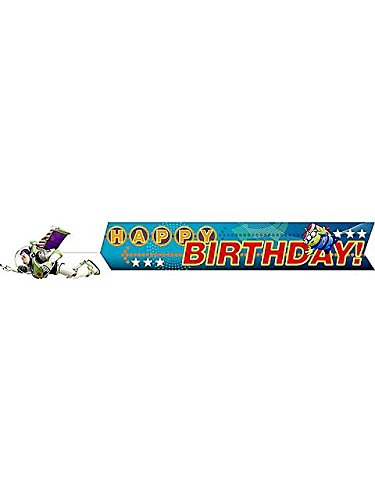 Toy Story Game Time Plastic Banner (Each)