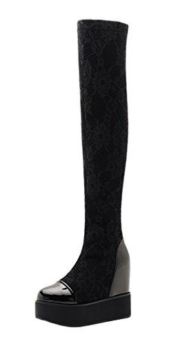 moolecole-damen-stiefel-stiefeletten-schwarz-schwarz