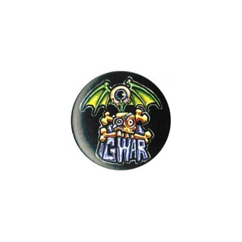 Amazon.com: Gwar - Logo (Silver Font On Black With One ...