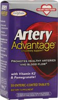 Enzymatic Therapy Artery Advantage -- 30 Enteric-Coated Tablets