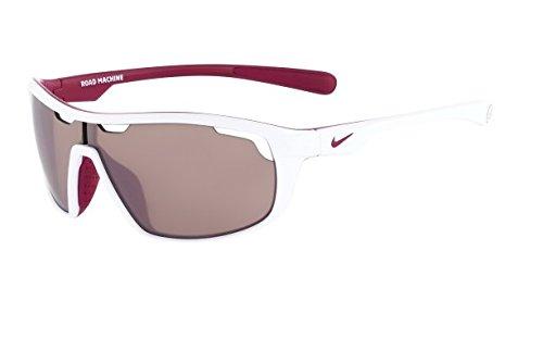 Lentes de sol  Nike Road Machine E lentes para máxima velocidad blanco/ magenta brillante