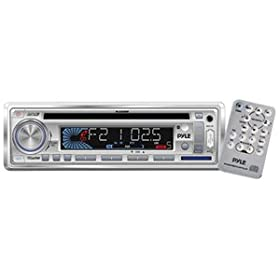 PYLE PLCD3MR AM/FM-MPX In-Dash Marine CD/MP3 Player/USB and SD Card Function