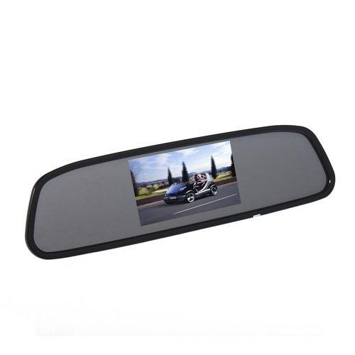 Agptek® 4.3 Inch Tft Car Auto Lcd Screen Rear Monitor View Rearview Dvd Av Mirror