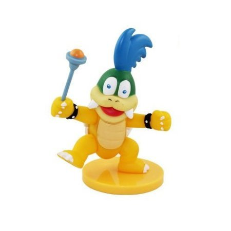 Super Mario Bros 4.6' / 11.5cm Larry Koopa PVC Action Figures Doll Anime Collection Model Toy