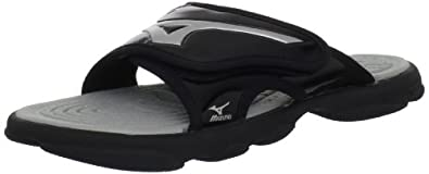 Buy Mizuno Mens Mizuno Runbird Slide 6 Sandal by Mizuno