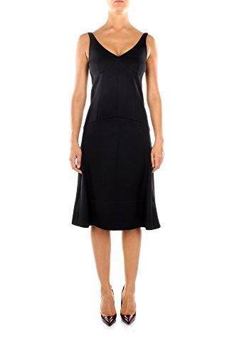 430026N190MIC01-Cline-Robes-Femme-Viscose-Noir