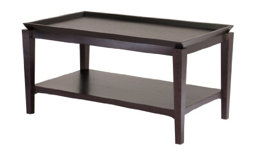 Mirrored Wood Tray front-1037745