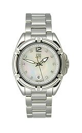 ESQ Swiss Torrent Mother-of-Pearl Diamond Dial Women's Watch #07101306