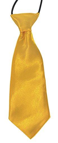 golden-yellow-baby-infant-silky-satin-pre-tied-elastic-wedding-ties-uk-seller