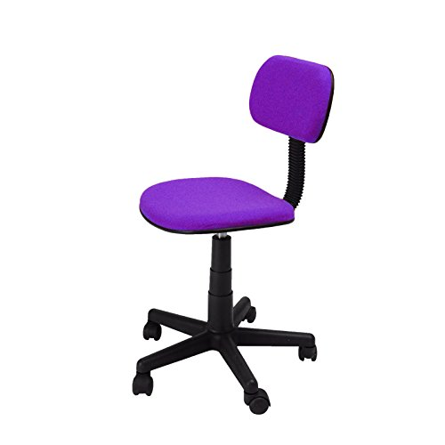 GREEN FOREST Mid-Back Office Task Chair with Ergonomic Fabri
