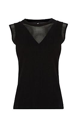 Mesh detail vest