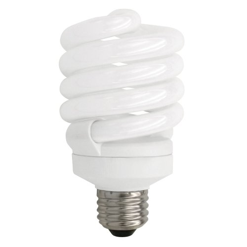 TCP 50123 CFL Spring Lamp - 100 Watt Equivalent (only 23W used!) Soft White (2700K) TruDim Dimmable Spiral Light Bulb (Flourescent Bulbs Dimmable compare prices)