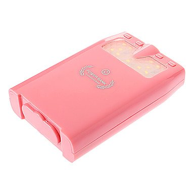 10000mAh External Battery with FlashlightMP3 Function with Photo
